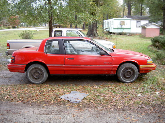 1991 Pontiac Grand Am #17