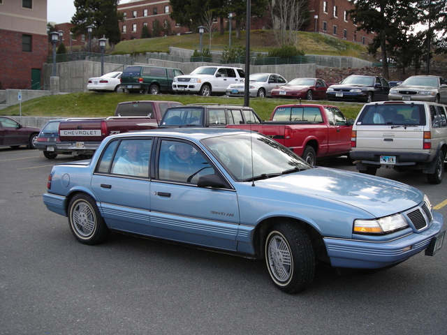 1991 Pontiac Grand Am #16