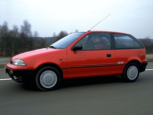 1991 Suzuki Swift #21