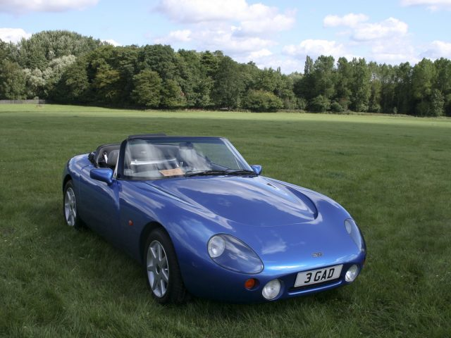 1991 TVR Griffith #14