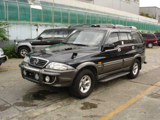 2001 Ssangyong Musso #4