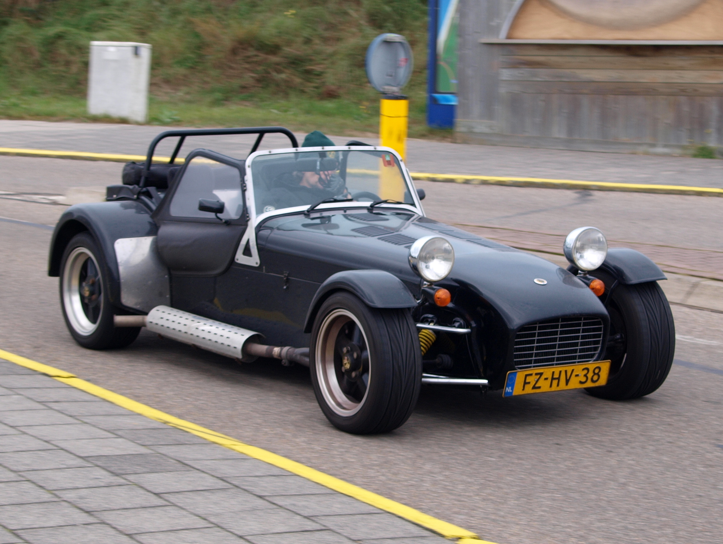 1992 Caterham Super 7 #20