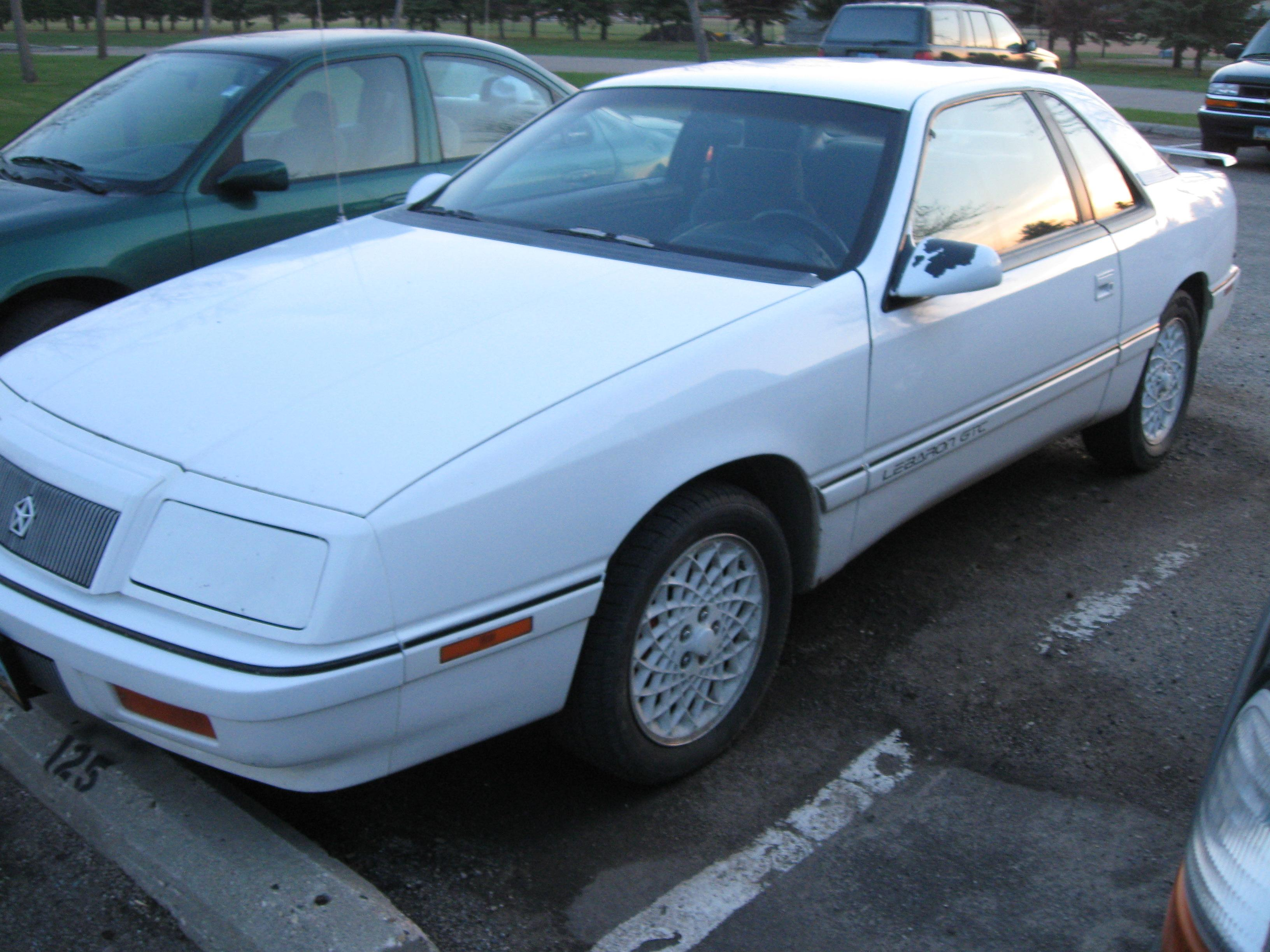 1992 Chrysler Le Baron #17