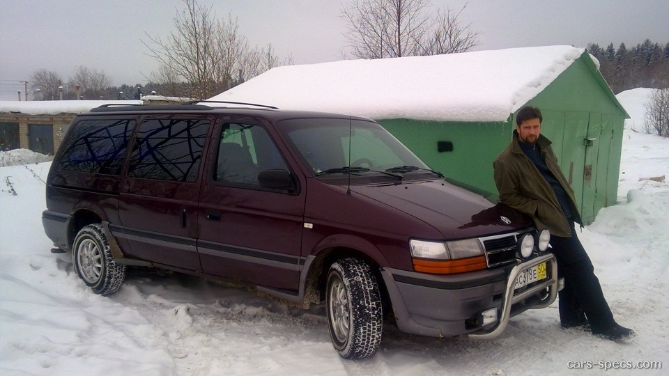 1992 Chrysler Town And Country #16