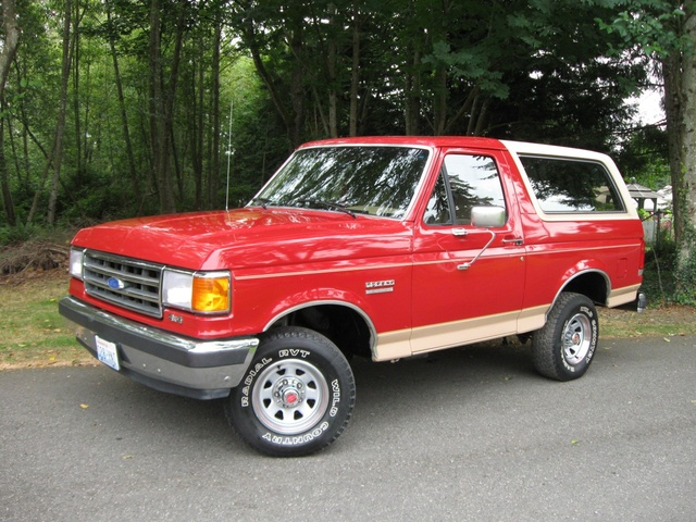 1992 Ford Bronco #17