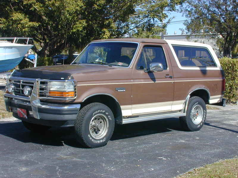 1992 Ford Bronco #18
