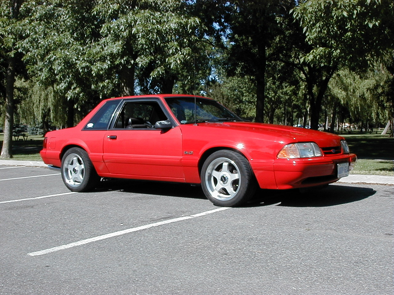 1992 Ford Mustang #22