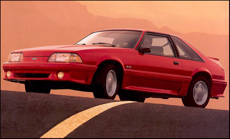 1992 Ford Mustang #26