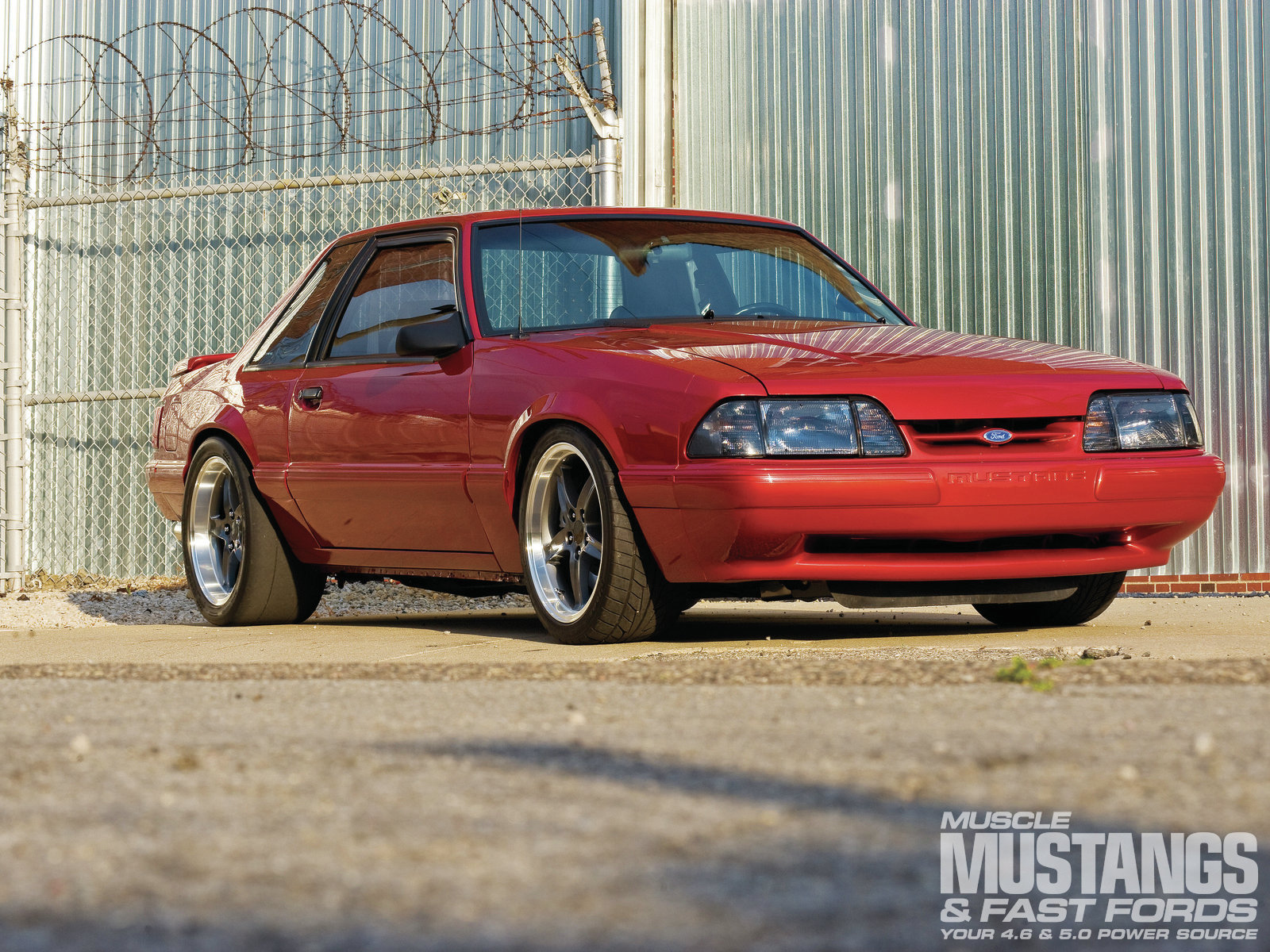 1992 Ford Mustang #28