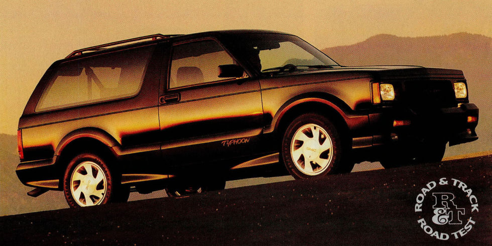 1992 GMC Typhoon #19
