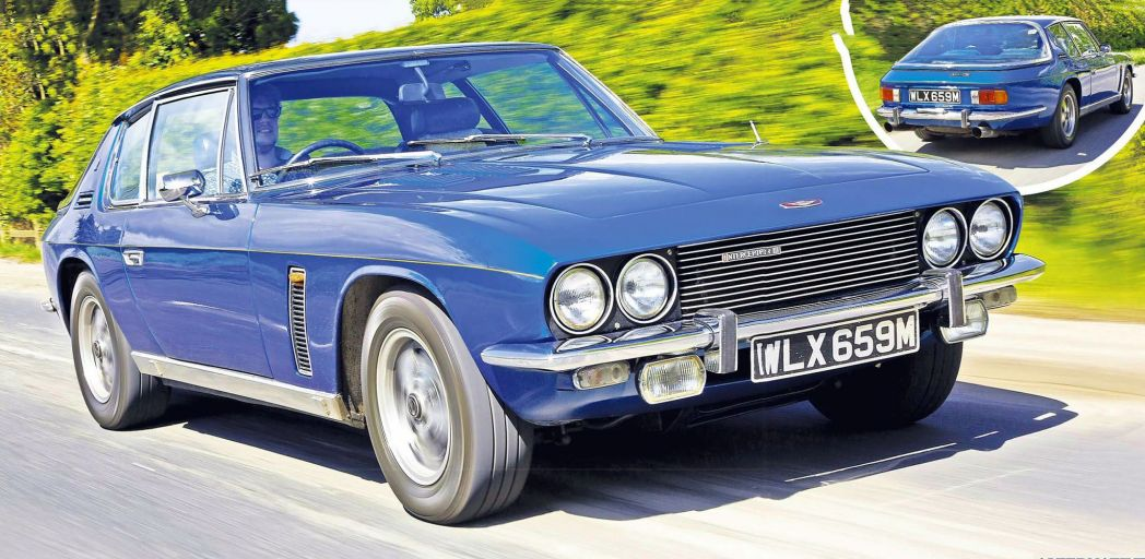 1992 Jensen Interceptor #10