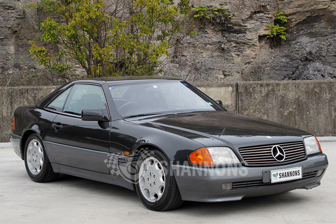 1992 Mercedes-Benz SL #21