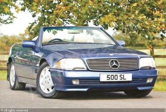 1992 Mercedes-Benz SL #23