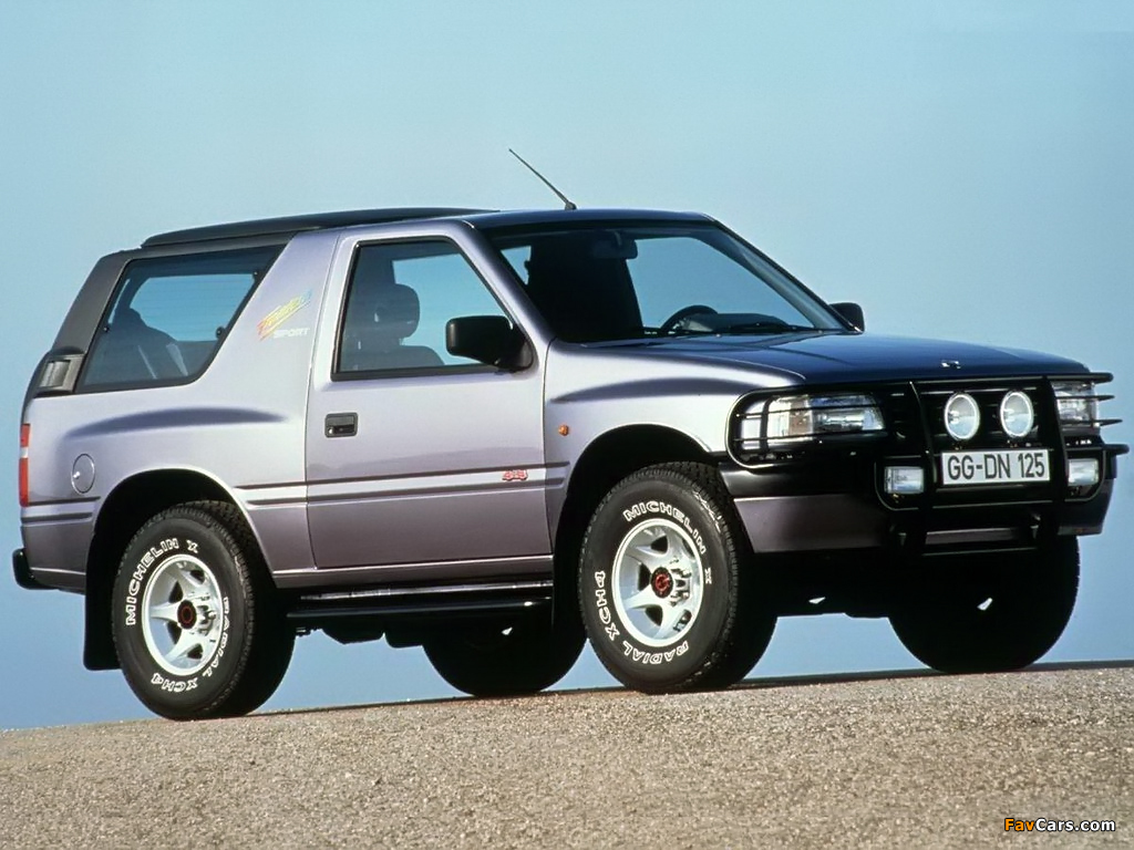 1992 opel frontera photos informations articles. Black Bedroom Furniture Sets. Home Design Ideas