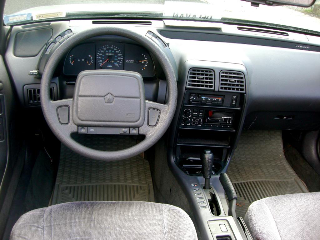 1993 Chrysler Le Baron #22