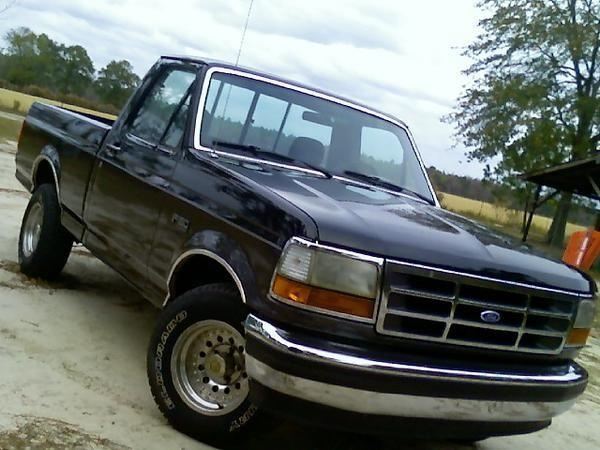 1993 ford f250 curb weight