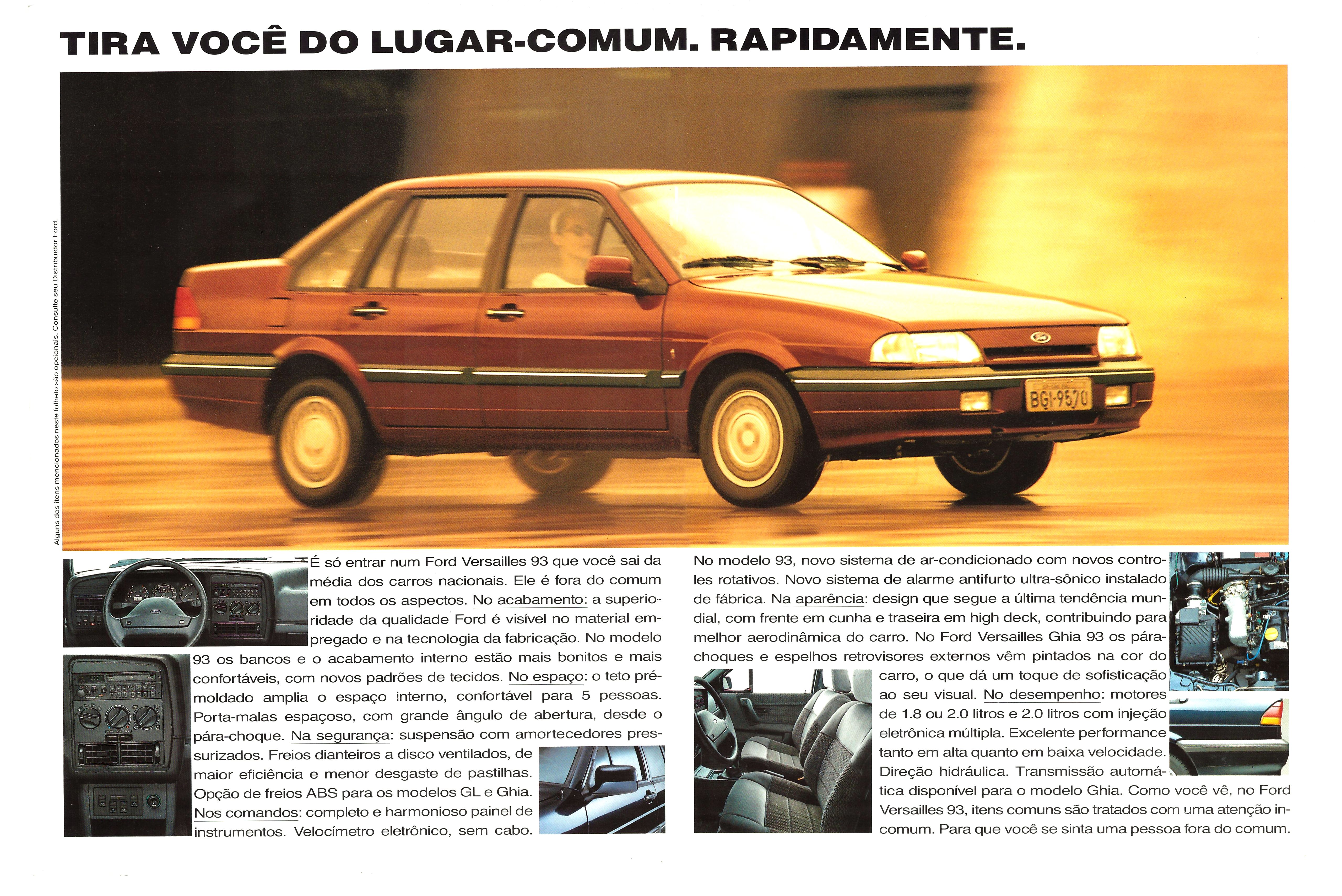 1993 Ford Versailles #15