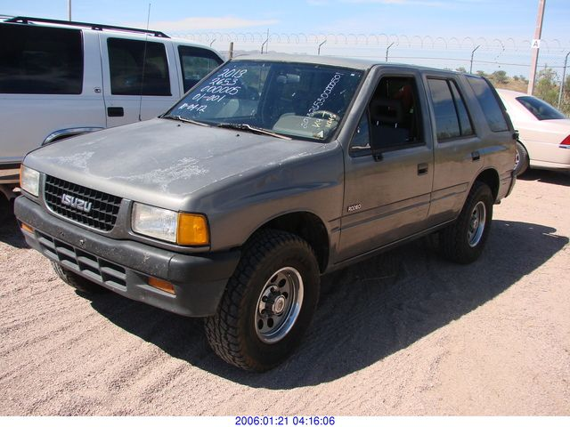 1993 Isuzu Rodeo #14