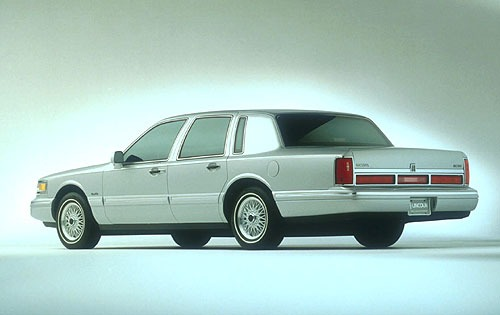 town lincoln continentalthunder car