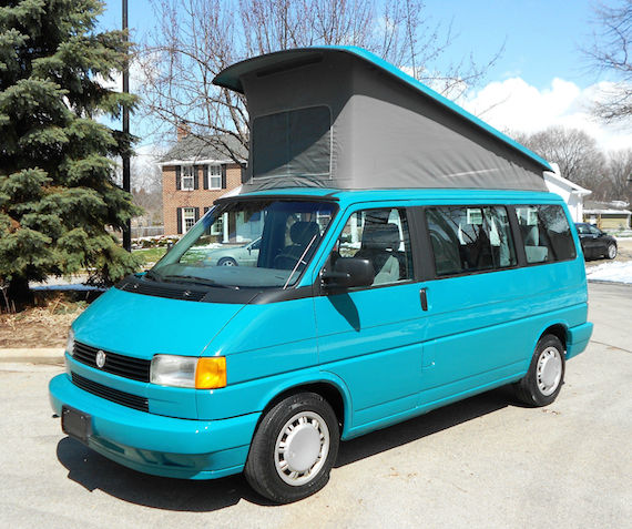 2000 Volkswagen Eurovan: 1993 Volkswagen Eurovan Photos, Informations, Articles