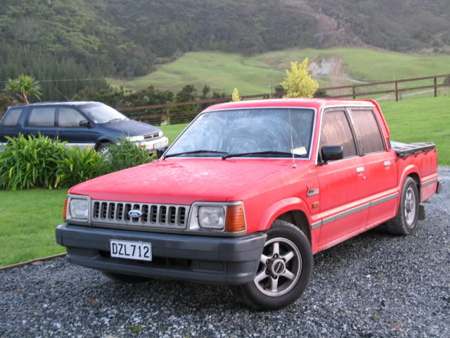 1994 Ford Courier #8