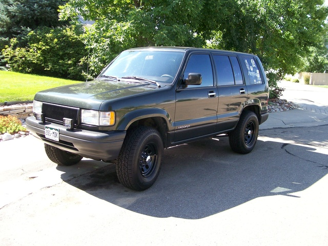 1994 Isuzu Trooper #19