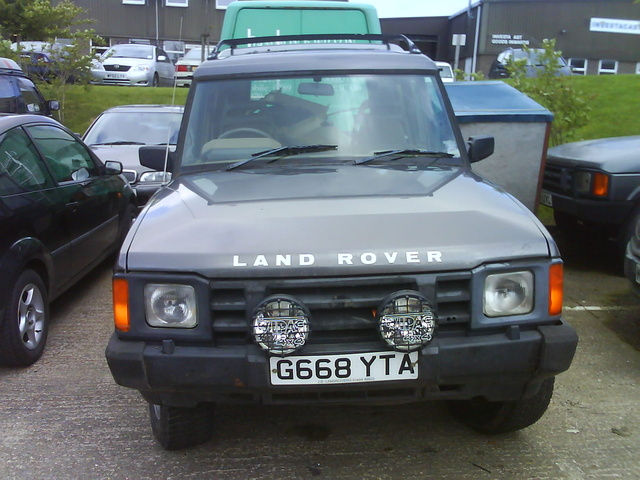 1994 Land Rover Discovery #21