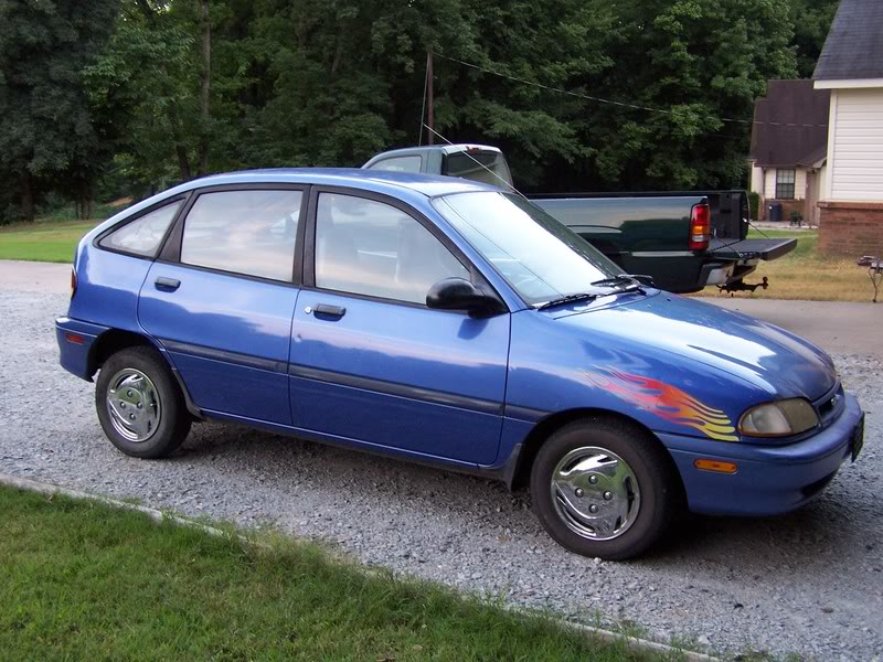 1995 Ford Aspire #22
