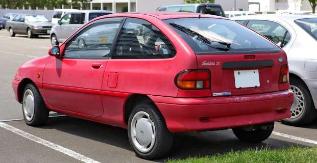 1995 Ford Aspire #23