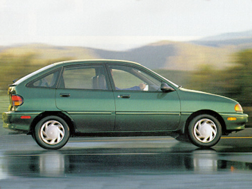 1995 Ford Aspire #19