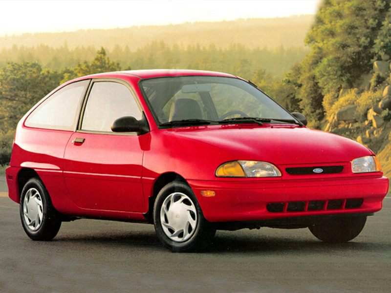 1995 Ford Aspire #28