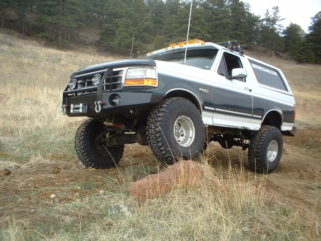 1995 Ford Bronco #21