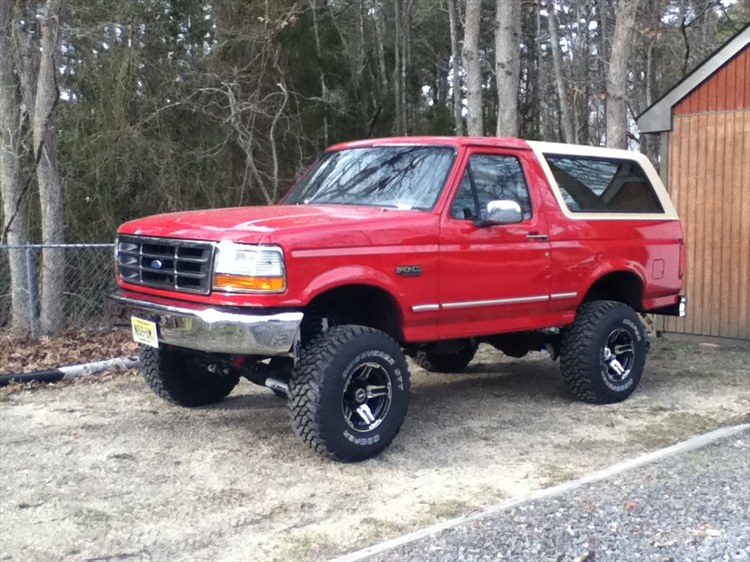 1995 Ford Bronco #27