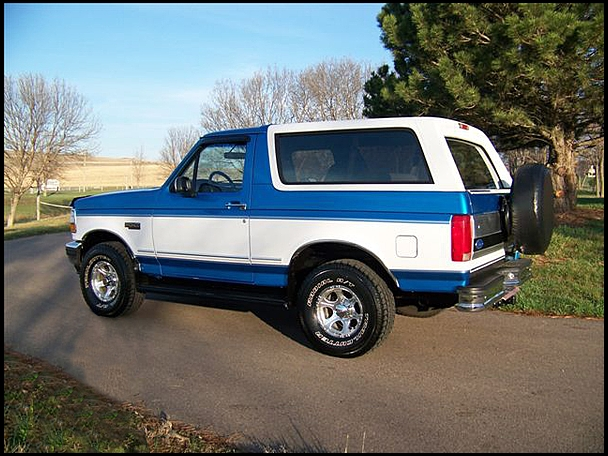 1995 Ford Bronco #28