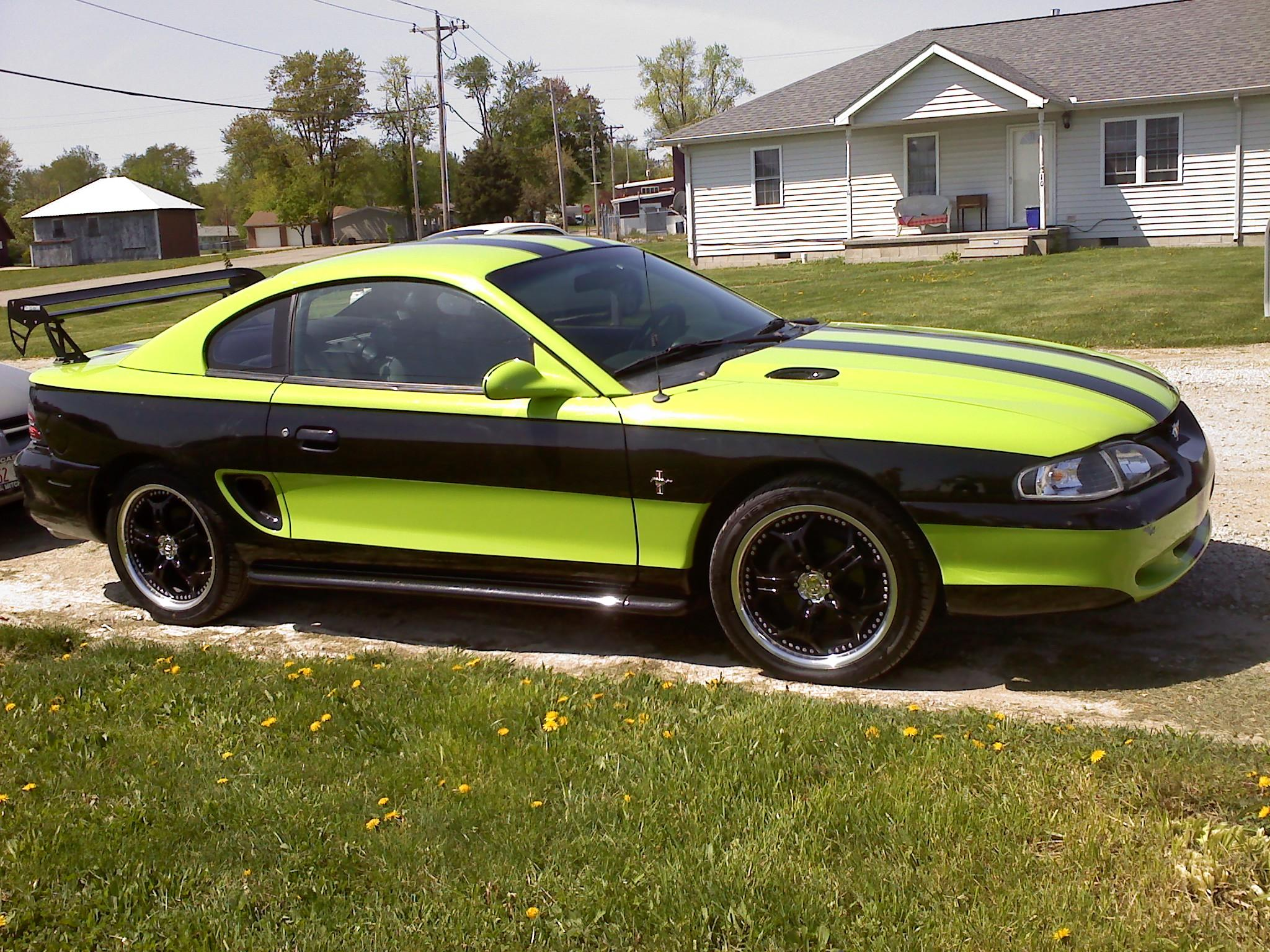 1995 Ford Mustang #21