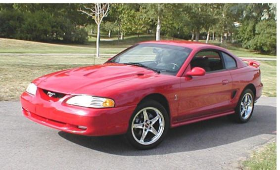 1995 Ford Mustang #22