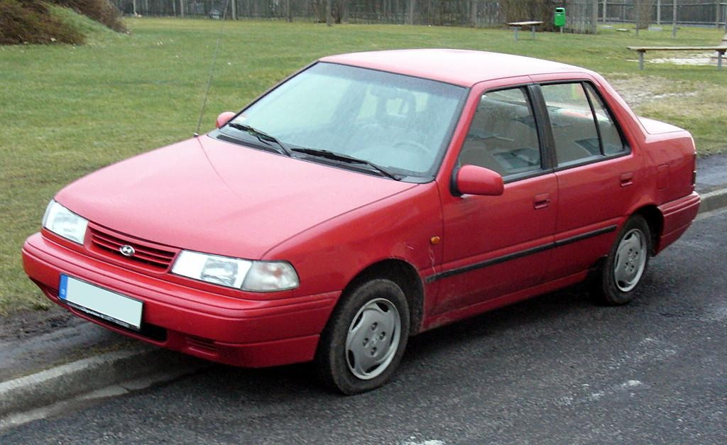 1991 hyundai excel with 1995 Hyundai Pony on 1991 Hyundai Galloper Pictures C18783 likewise File 00 02 Hyundai Accent GL sedan as well 289578 Lowrider Mustang additionally File 00 02 Hyundai Accent hatch moreover 2002 Hyundai Sonata Pictures C2191 pi36196605.