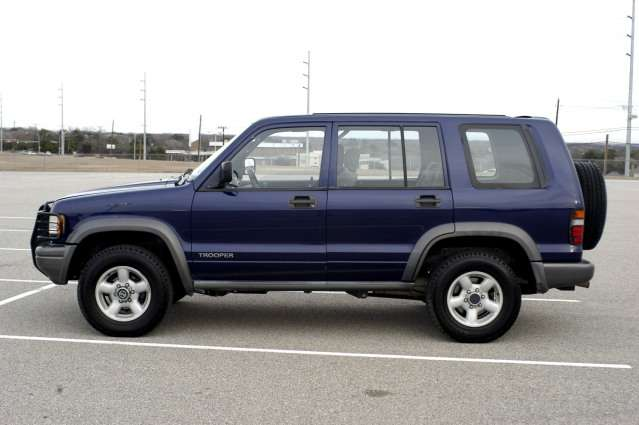 1995 Isuzu Trooper #20