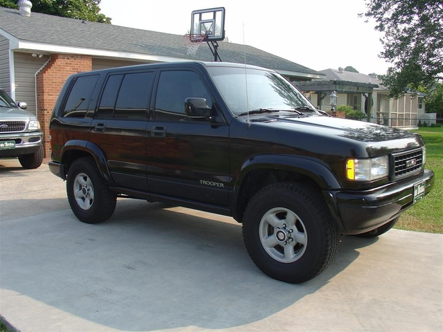 1995 Isuzu Trooper #17