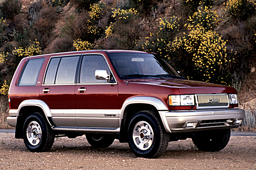 1995 Isuzu Trooper #19