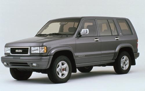 1995 Isuzu Trooper #21