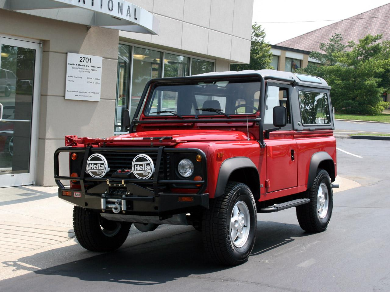1995 Land Rover Defender #22