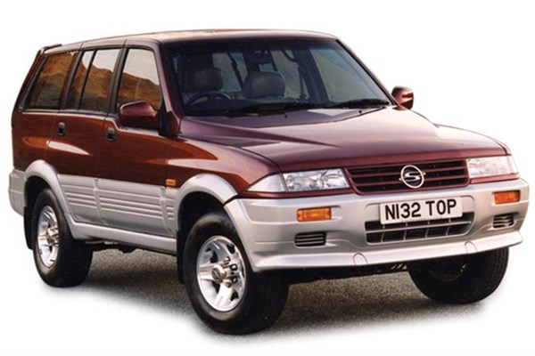 1995 Ssangyong Musso #18