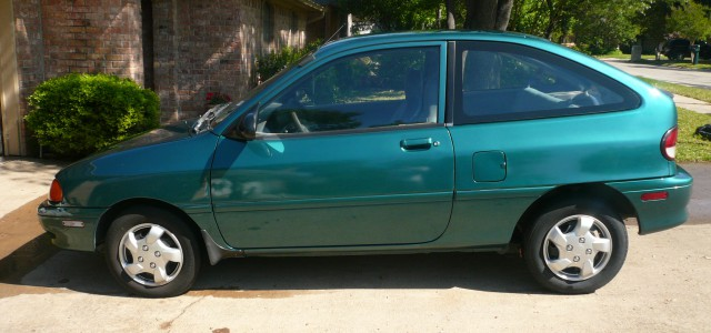 1996 Ford Aspire #17