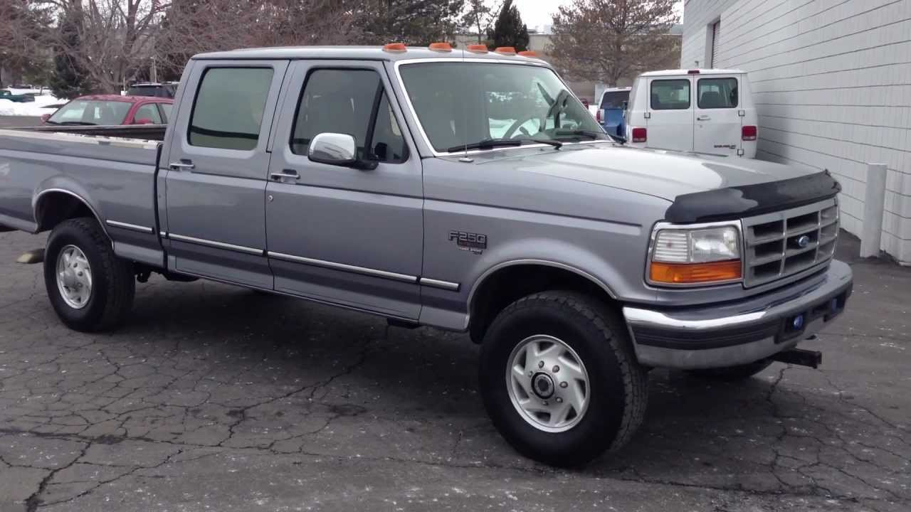 1996 ford f 250 photos informations articles. Black Bedroom Furniture Sets. Home Design Ideas