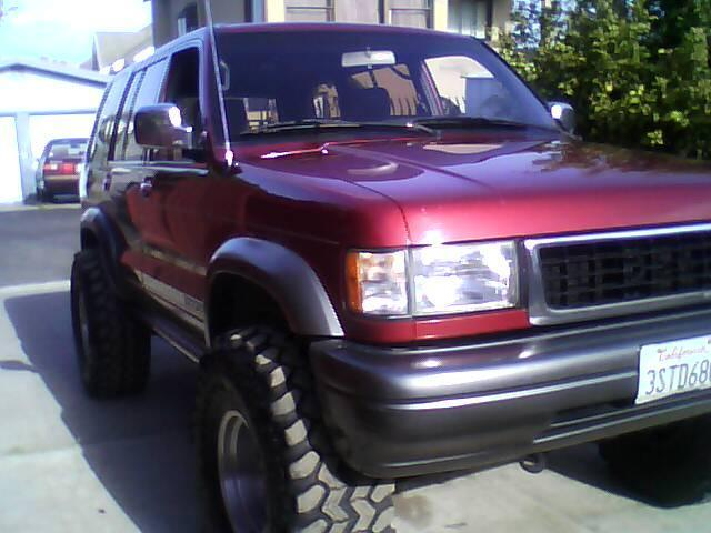 1996 Isuzu Trooper #19