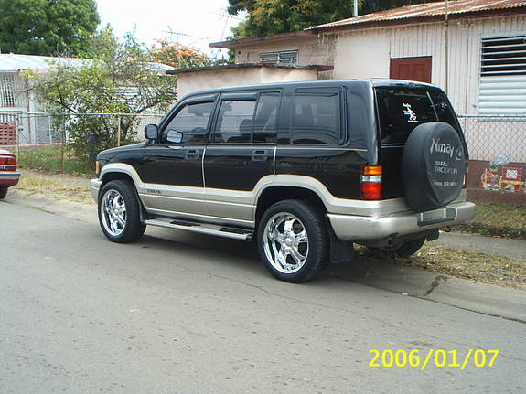 1996 Isuzu Trooper #20