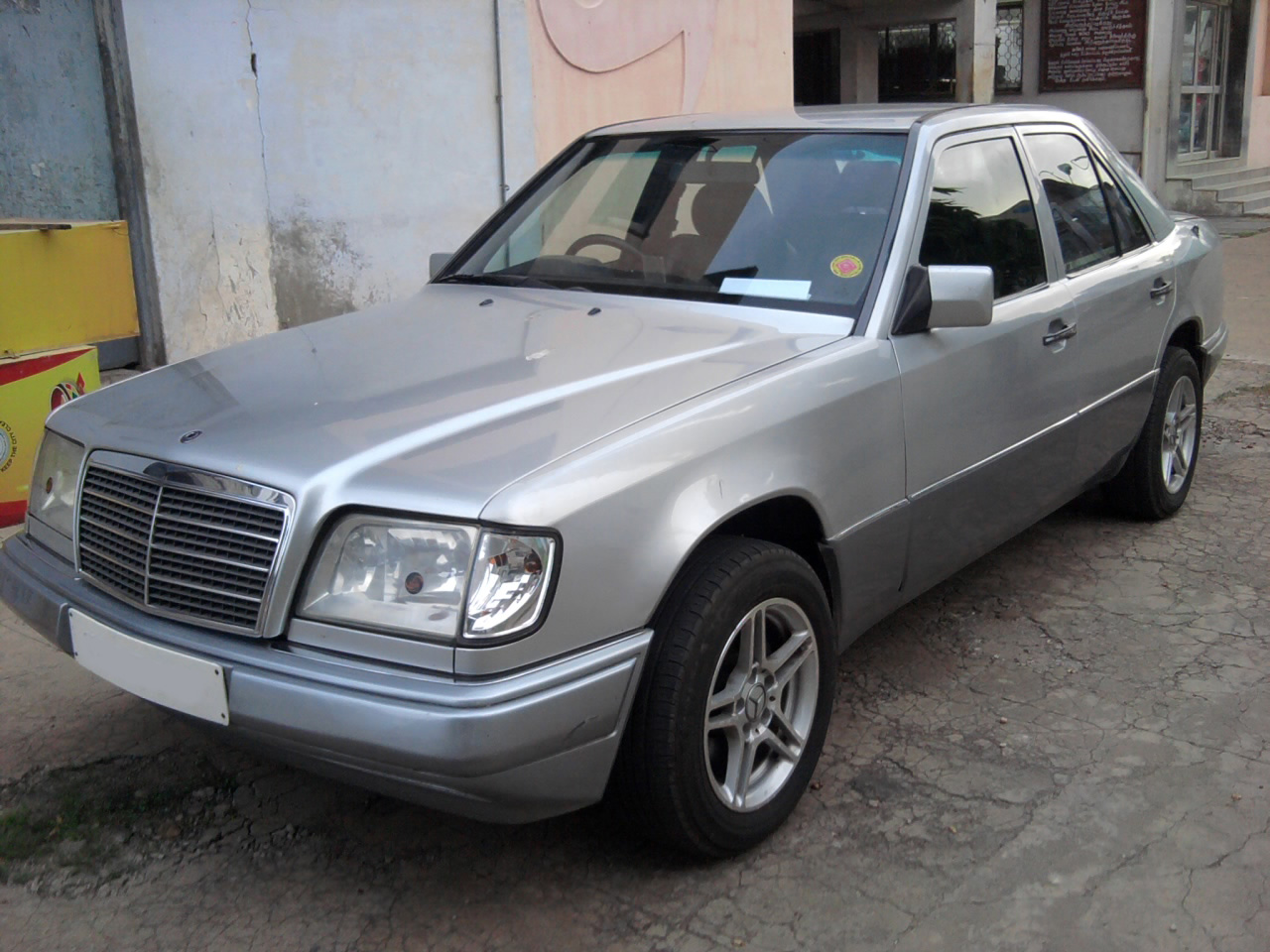 1996 mercedes benz e class photos informations articles On mercedes benz e class 1996