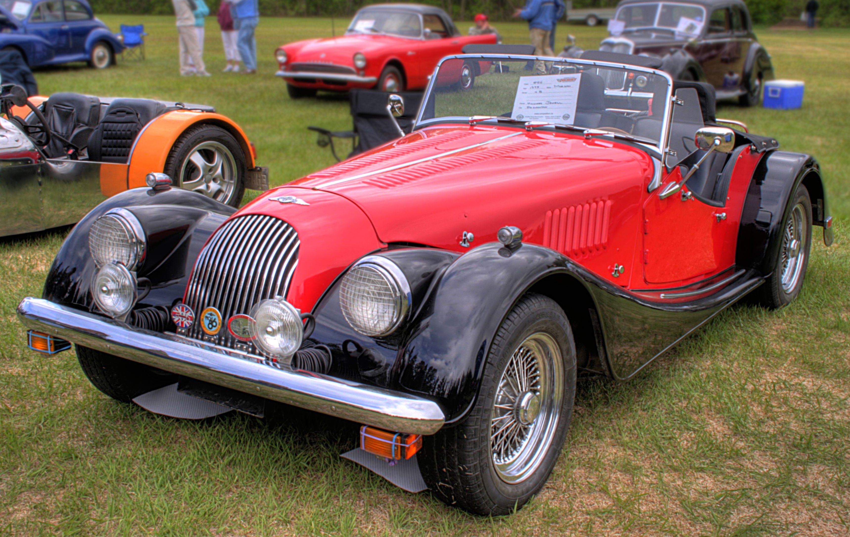 1996 Morgan Plus 4 #23