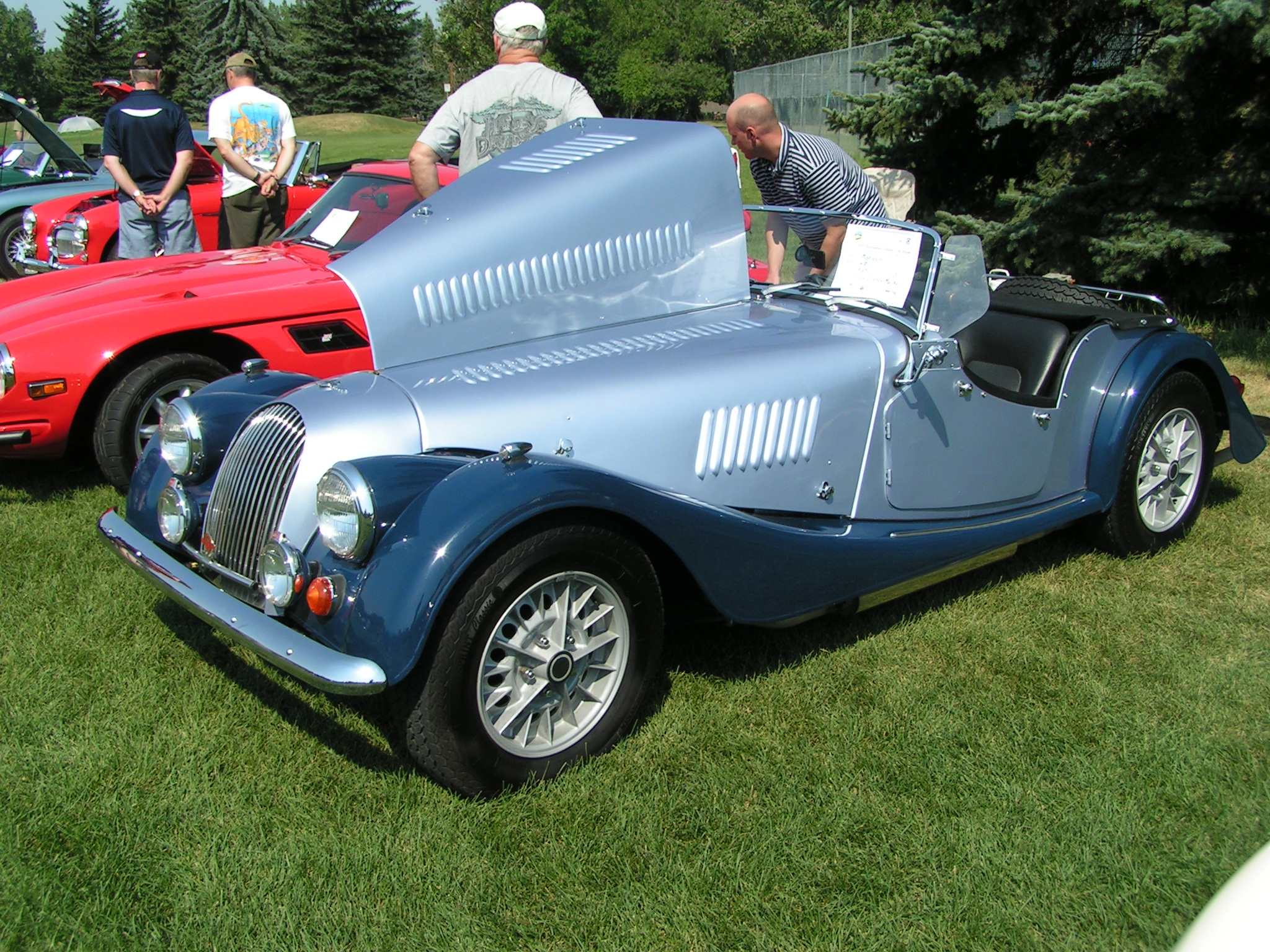 1996 Morgan Plus 4 #21